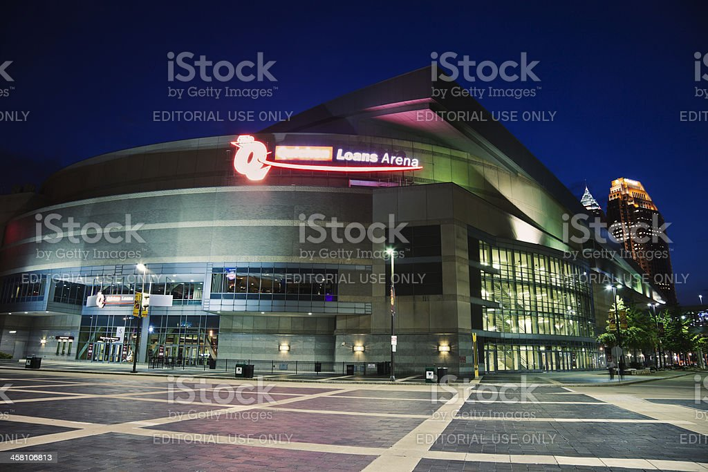 Quicken Loans Arena stock photo