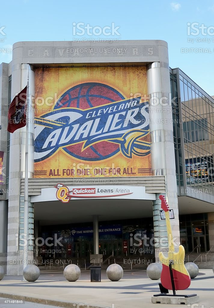 Quicken Loans Arena Stock Photo More Pictures Of Basketball Ball
