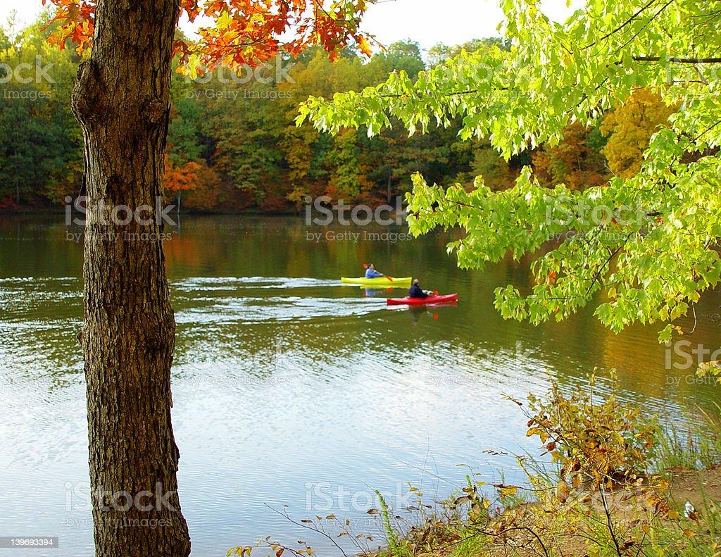 Quiet autumn day royalty-free stock photo