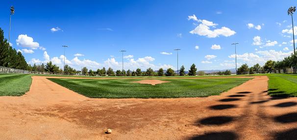 A Quiet baseball field