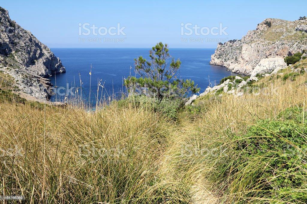 quiet bay stock photo