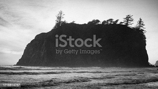 istock Quiet beach. Ruby Beach, Olympic National Park, Washington state, USA 1216814757