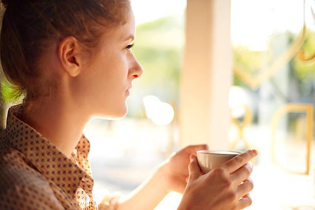 Ruhige Unterhaltungen über Kaffee – Foto