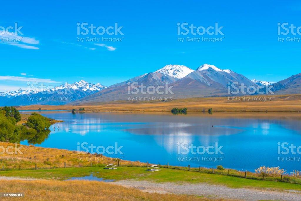 A Quiet Lake stock photo