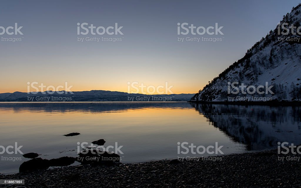 Quiet Sunset royalty-free stock photo