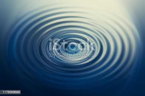 Quiet wave of water drop peace tranquil Illustration image
