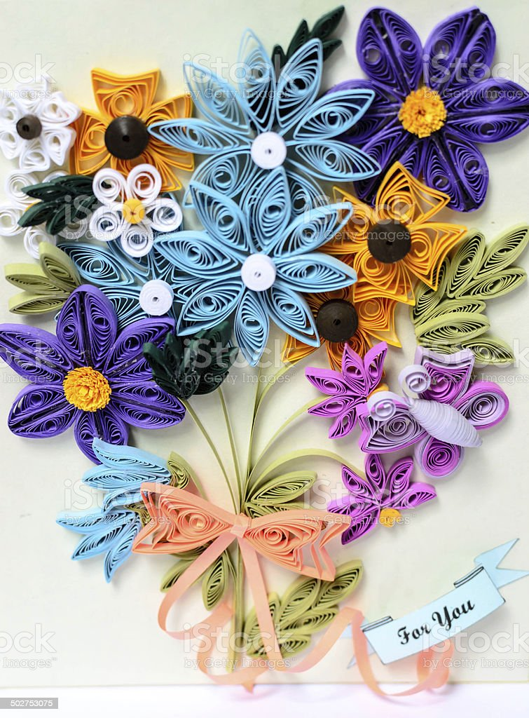 Fiori Quilling.Quilling Paper Flowers Stock Photo Download Image Now Istock
