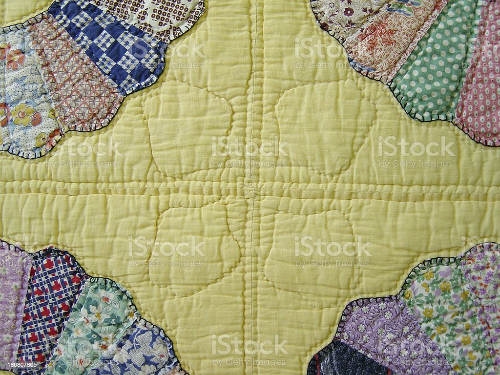 Quilt Abstraction IV royalty-free stock photo