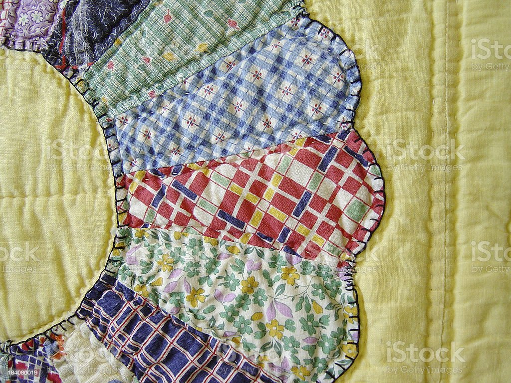 Quilt Abstraction VIII royalty-free stock photo