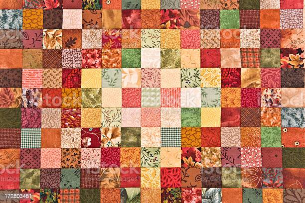 Quilt Background Stock Photo - Download Image Now