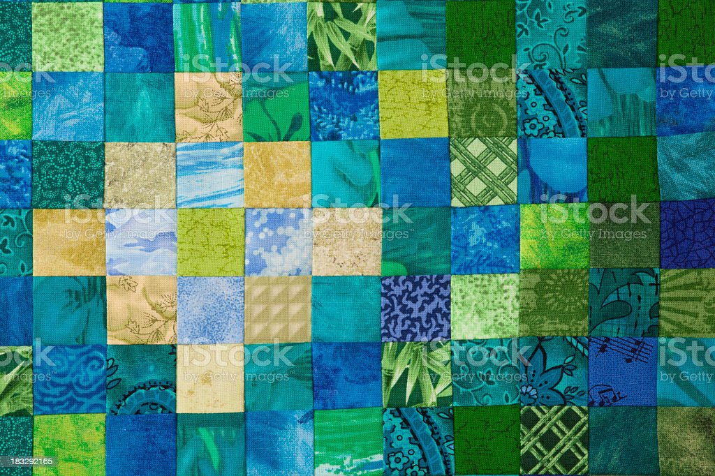 Quilt background royalty-free stock photo