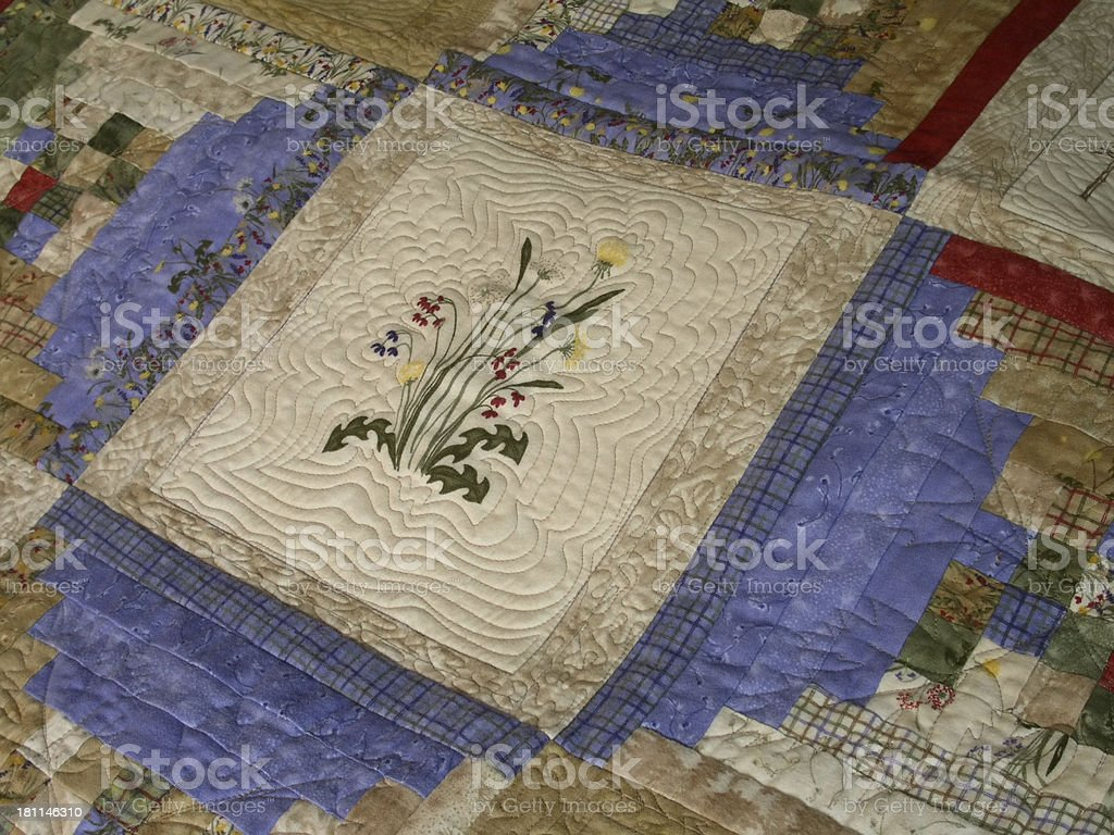 Quilt - Northwoods royalty-free stock photo
