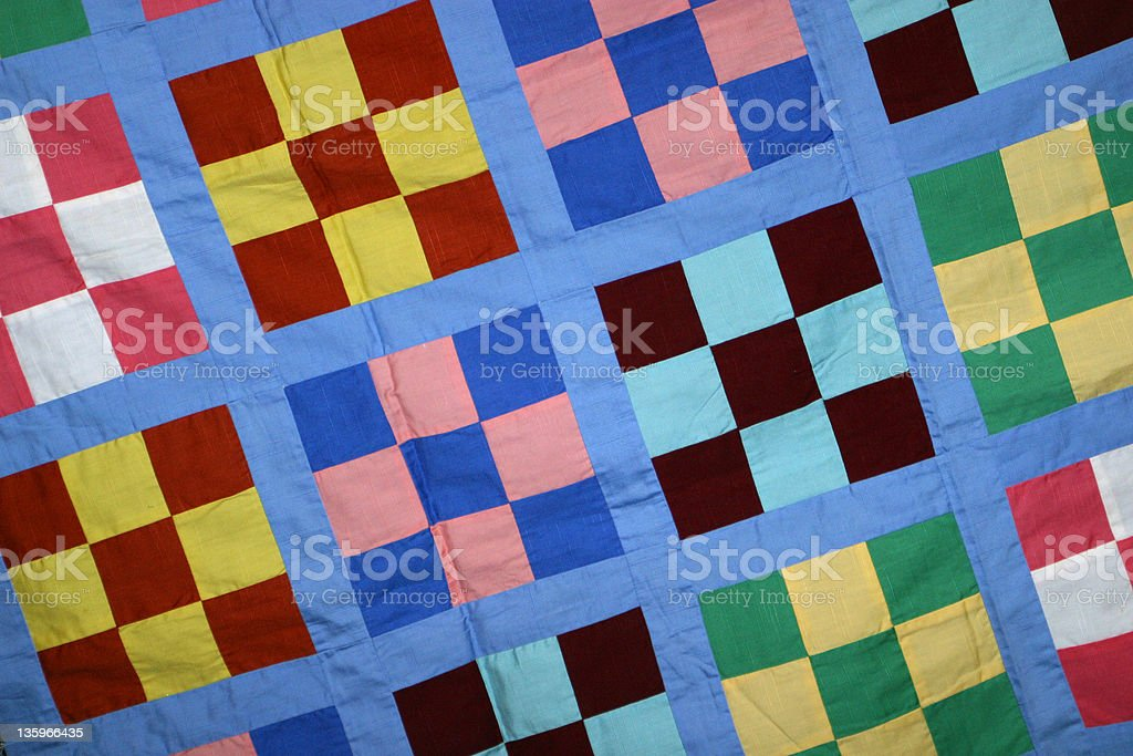 Quilt Pattern 3 royalty-free stock photo
