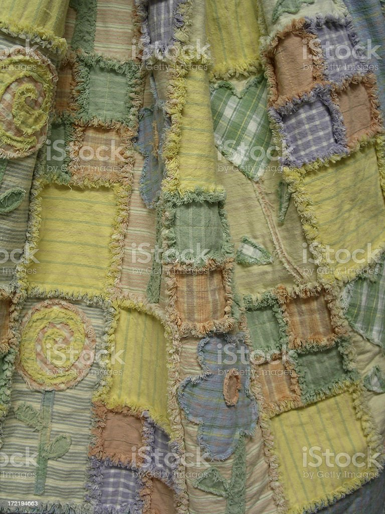 Quilt - Pick A Posy royalty-free stock photo