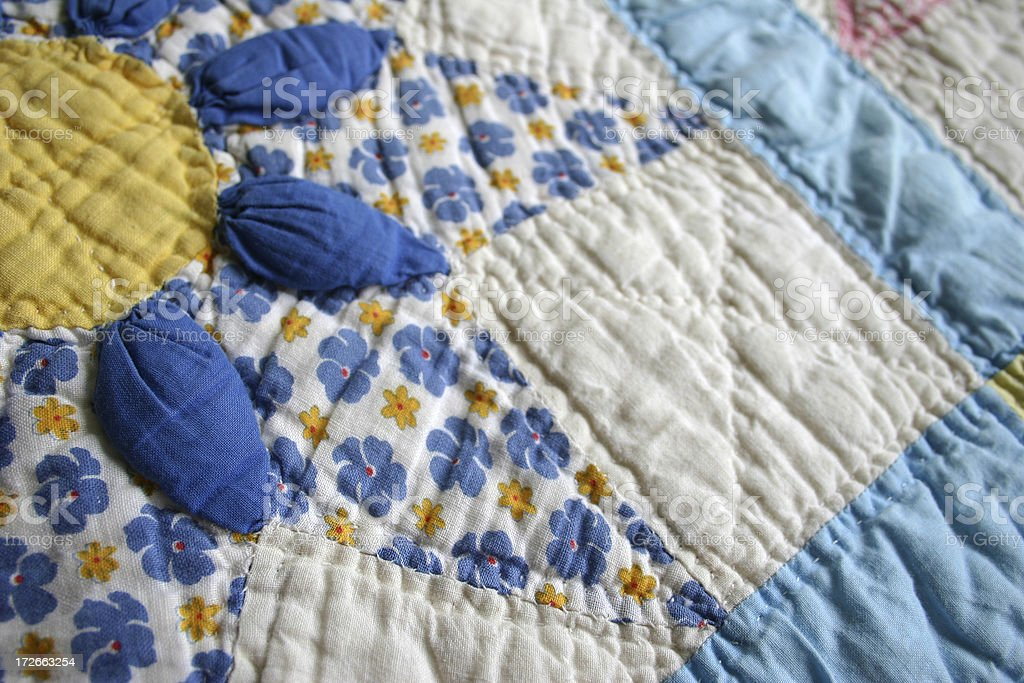 Quilt Series: 2 royalty-free stock photo