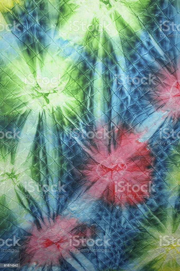 Quilt Tie Dye 1 stock photo