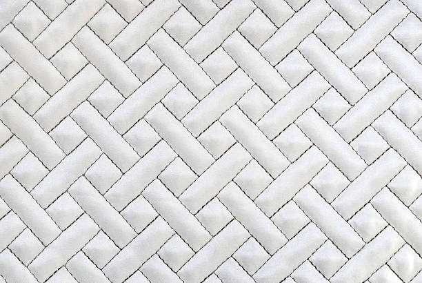 Quilted Background stock photo