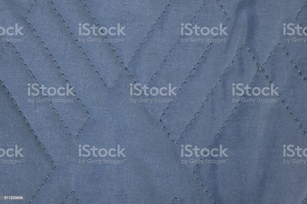 Quilted fabric texture stock photo