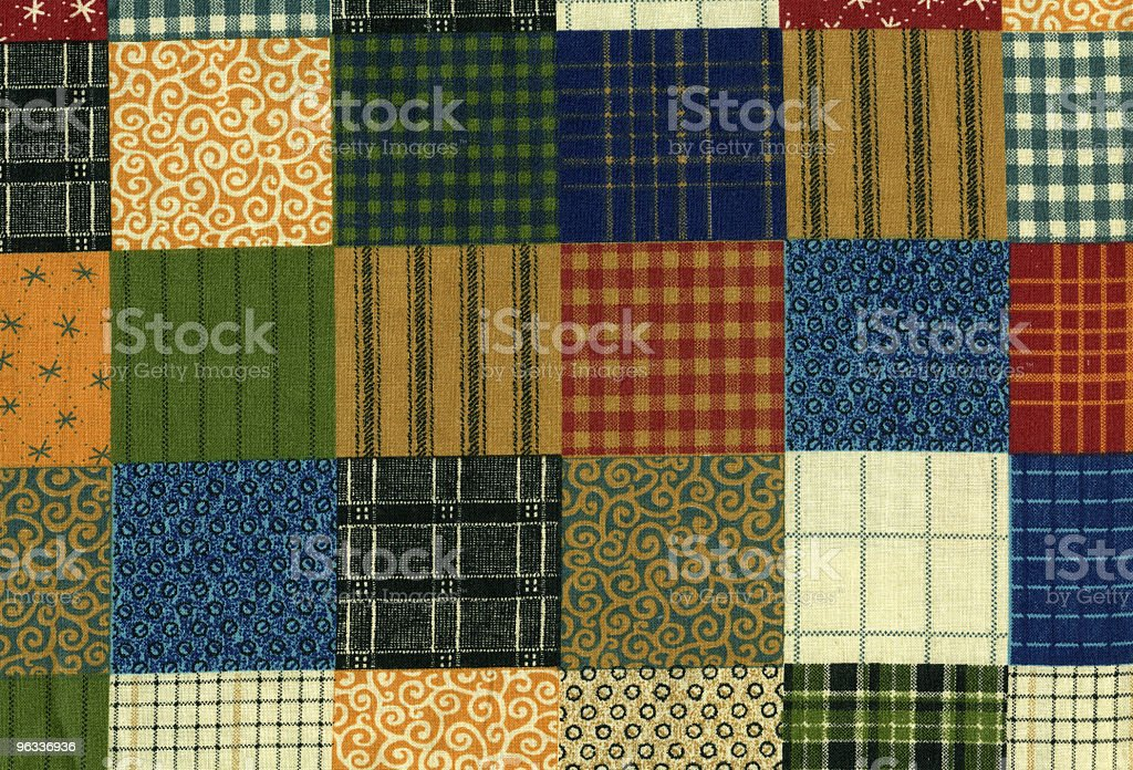 XXL Quilted Texture royalty-free stock photo
