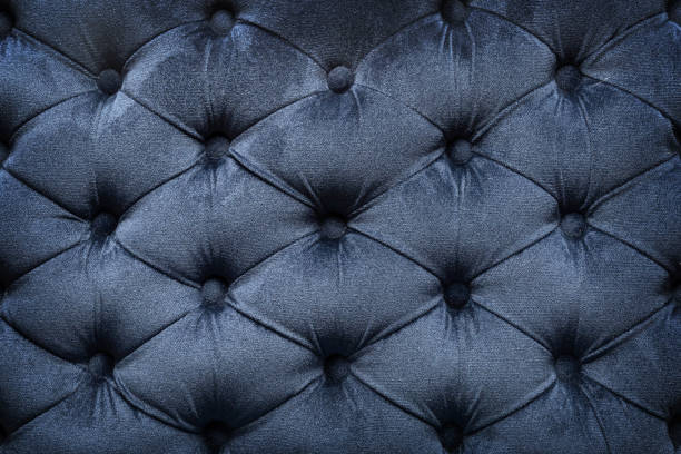 quilted velvet dark fabric - velvet stock pictures, royalty-free photos & images