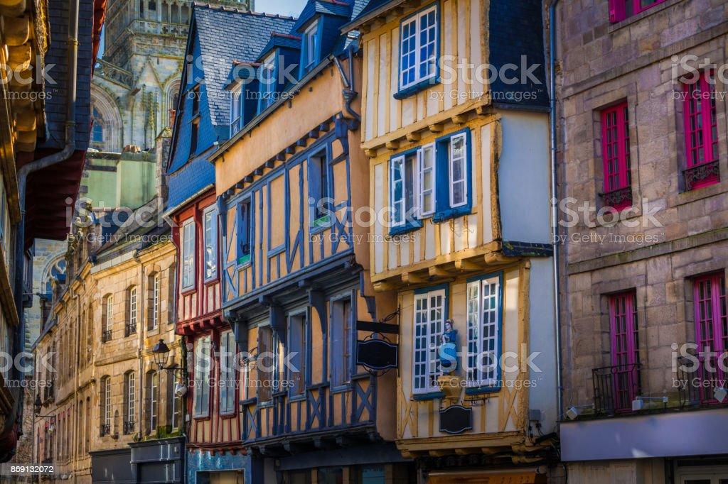 Quimper in der Bretagne, Frankreich – Foto