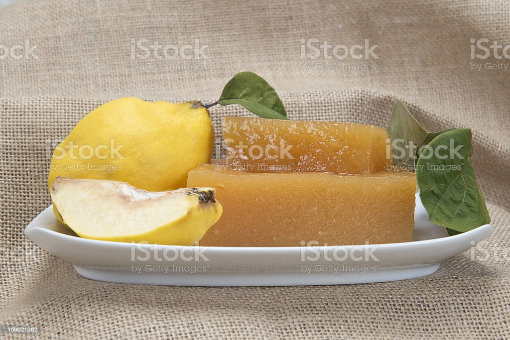 Quince cheese royalty-free stock photo