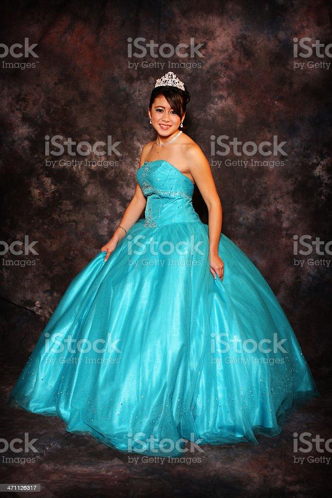 Quinceañera Girl stock photo