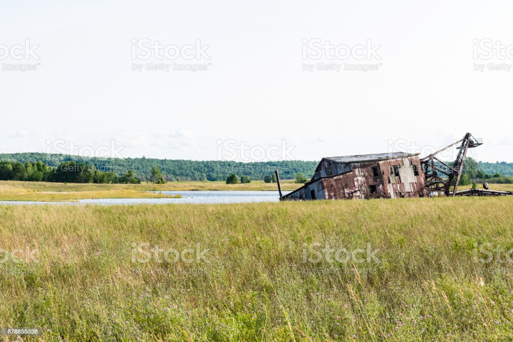 Quincy Dredge Number Two stock photo