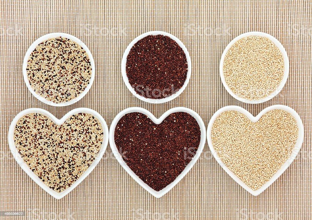 Quinoa Health Food stock photo