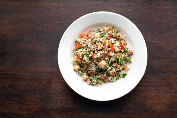 quinoa salad - quinoa stock photos and pictures