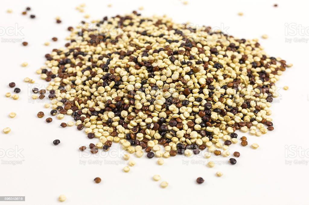 quinoa seeds - chenopodium quinoa Lizenzfreies stock-foto