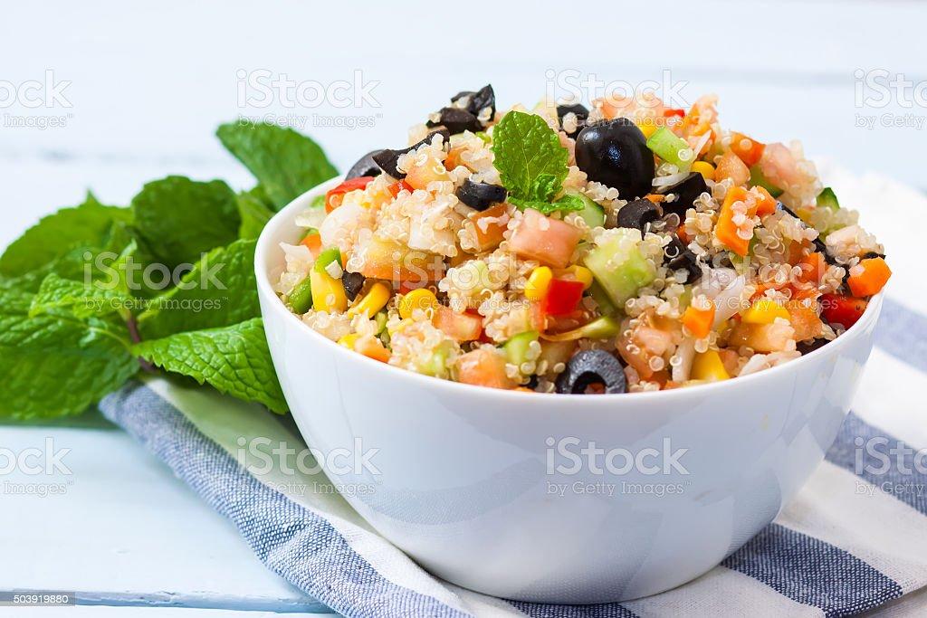 Salade de Quinoa végétalien - Photo