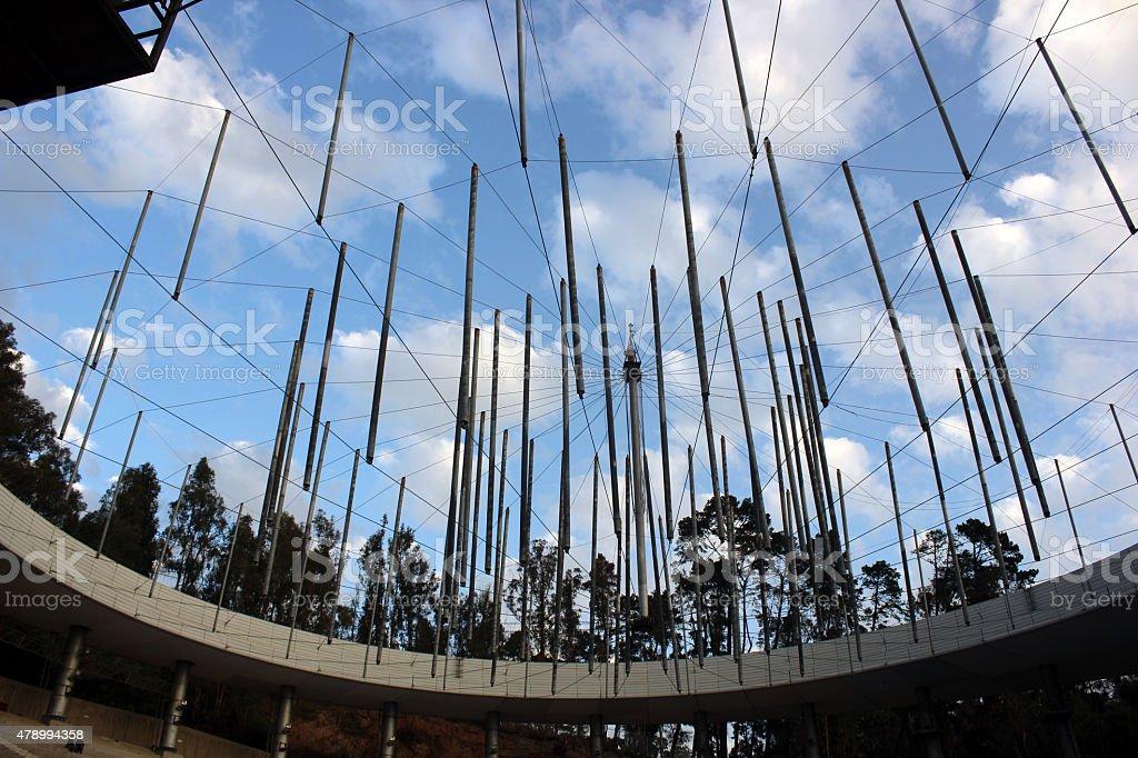 Quinta Vergara Amphitheater stock photo