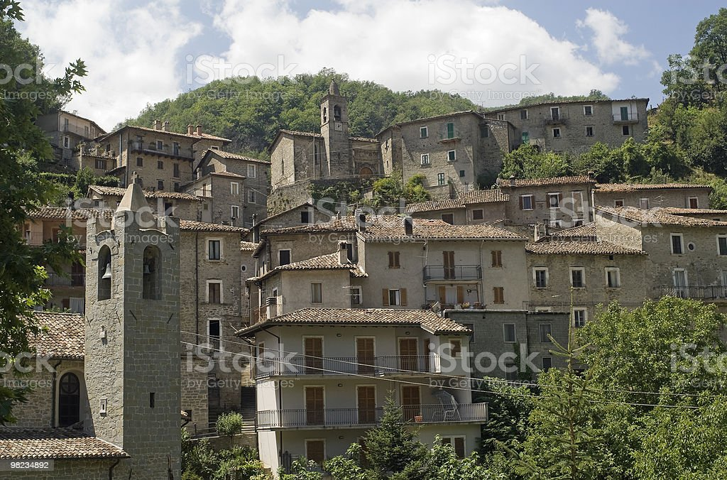 Quintodecimo (Ascoli Piceno) - Ancient town royalty-free stock photo