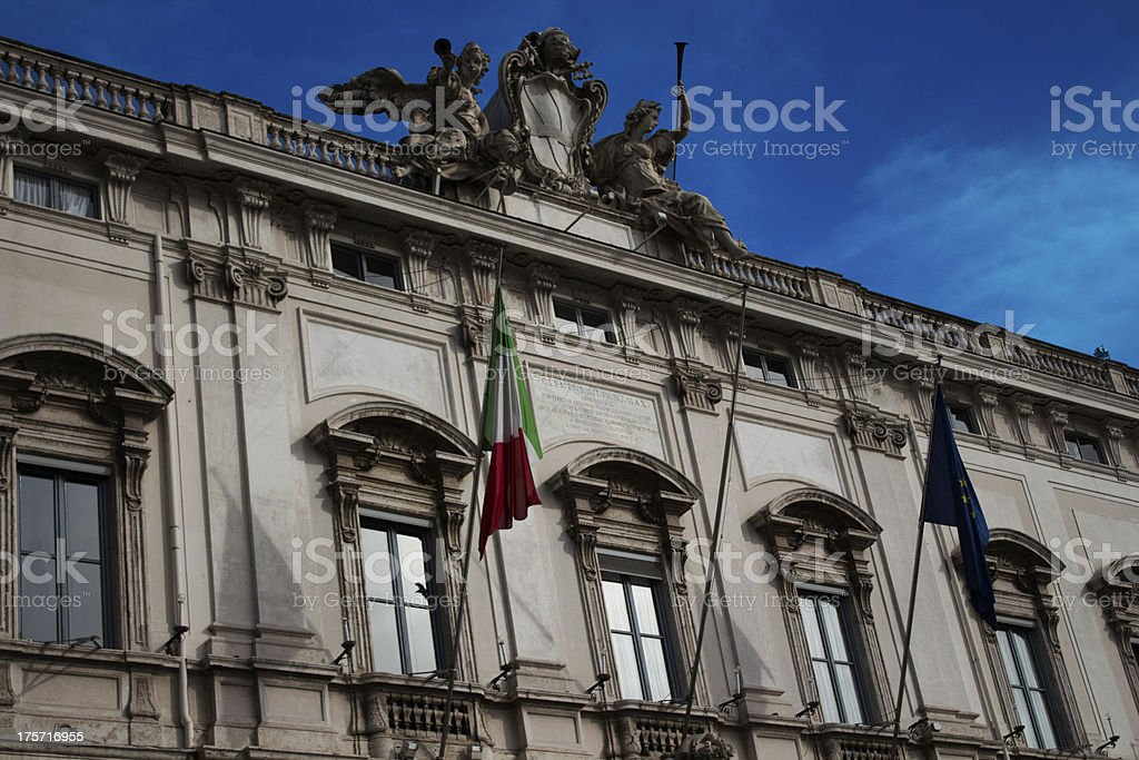 Quirinale royalty-free stock photo