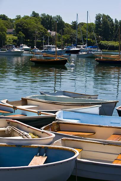 Quissett Harbor stock photo