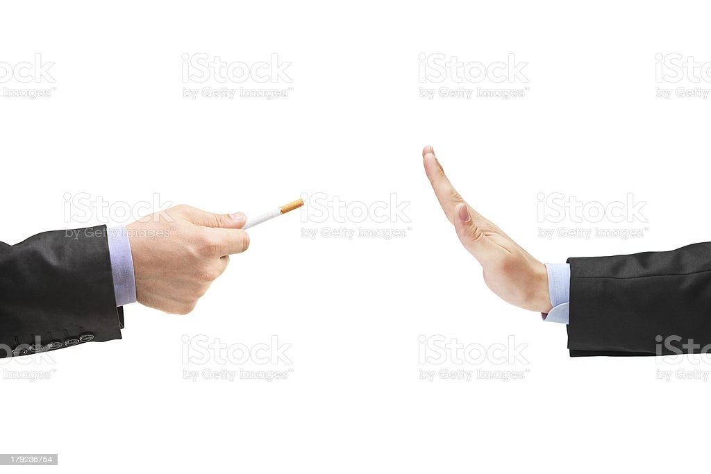 Quit smoking concept royalty-free stock photo