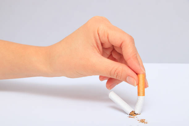 Quit Smoking Quit Smoking tuxedo stock pictures, royalty-free photos & images