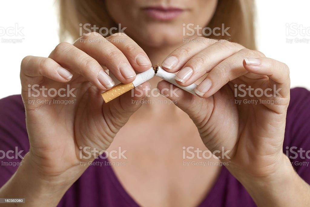 Mit dem Rauchen aufhören – Foto