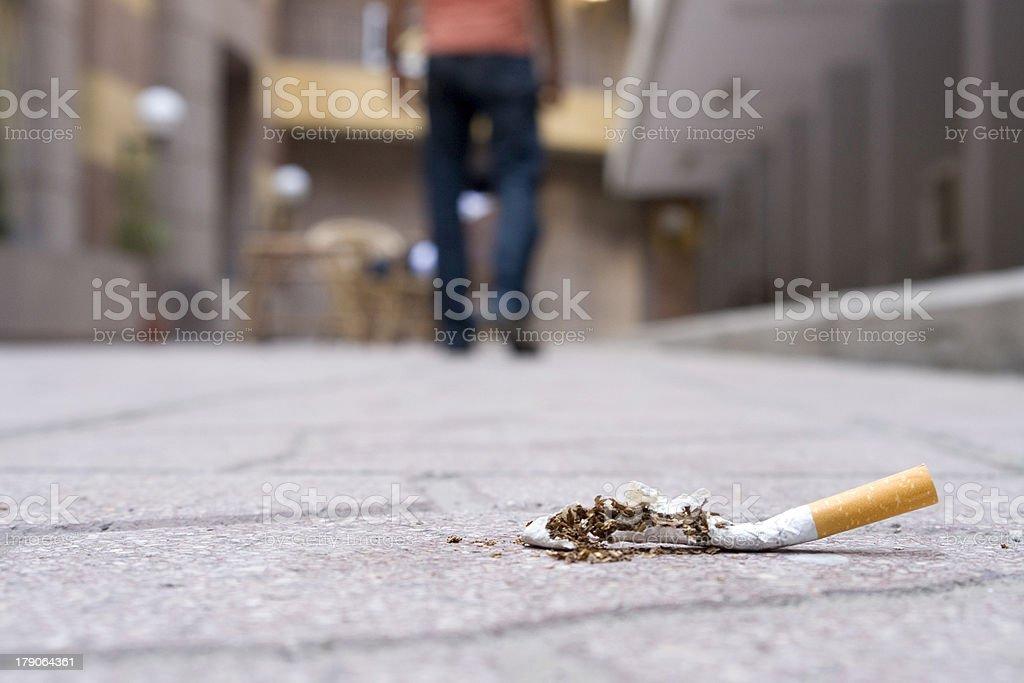 I Quit smoking..Never Going Back stock photo