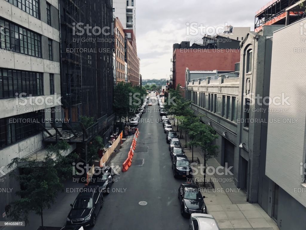 Quite street in New York - Royalty-free Architecture Stock Photo