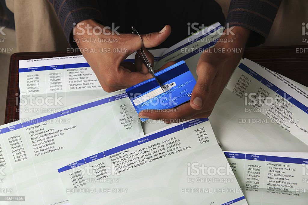 Quiting the Credit Cycle stock photo