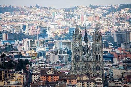 Quito Ecuador City View Stock Photo - Download Image Now