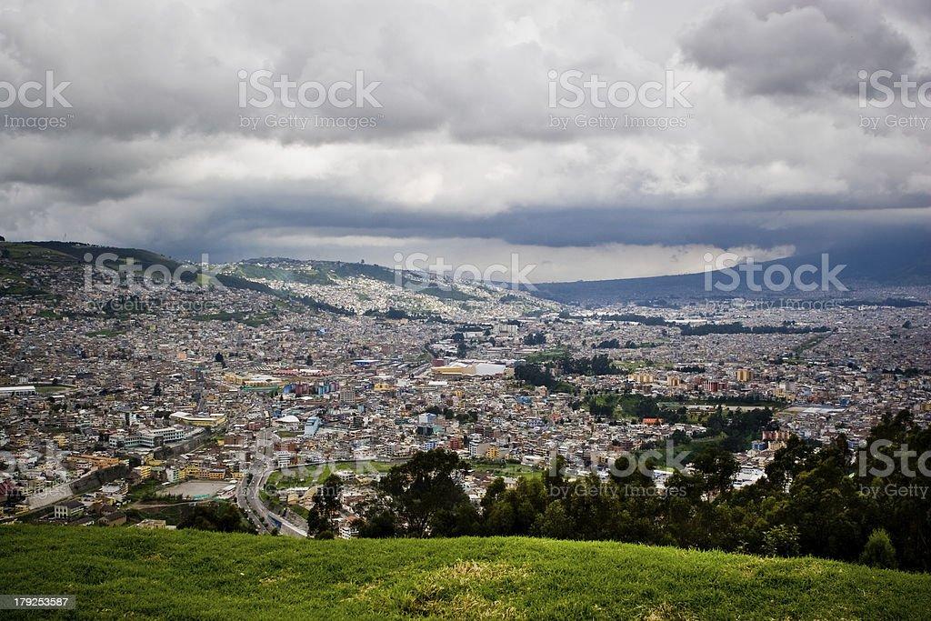 Quito royalty-free stock photo