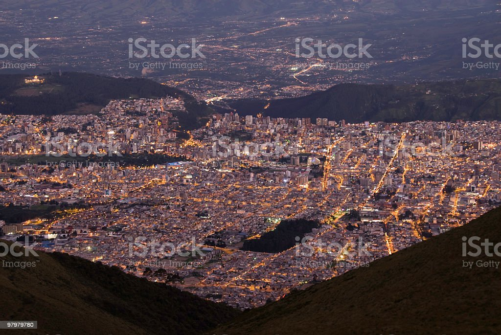 Quito royalty-free stock photo