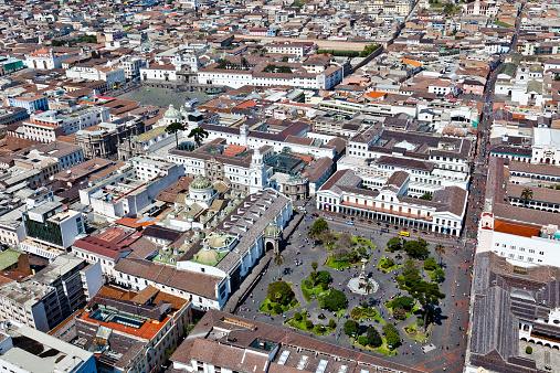 Quito, Plaza Grande and San Francisco