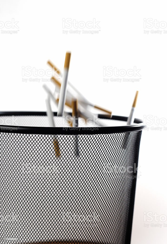 Quitting the habit royalty-free stock photo