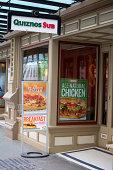 Quiznos Sub Sandwich Shop and Deli Downtown Seattle