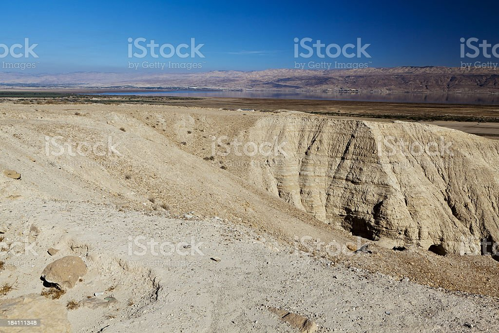 Qumran, Israel royalty-free stock photo