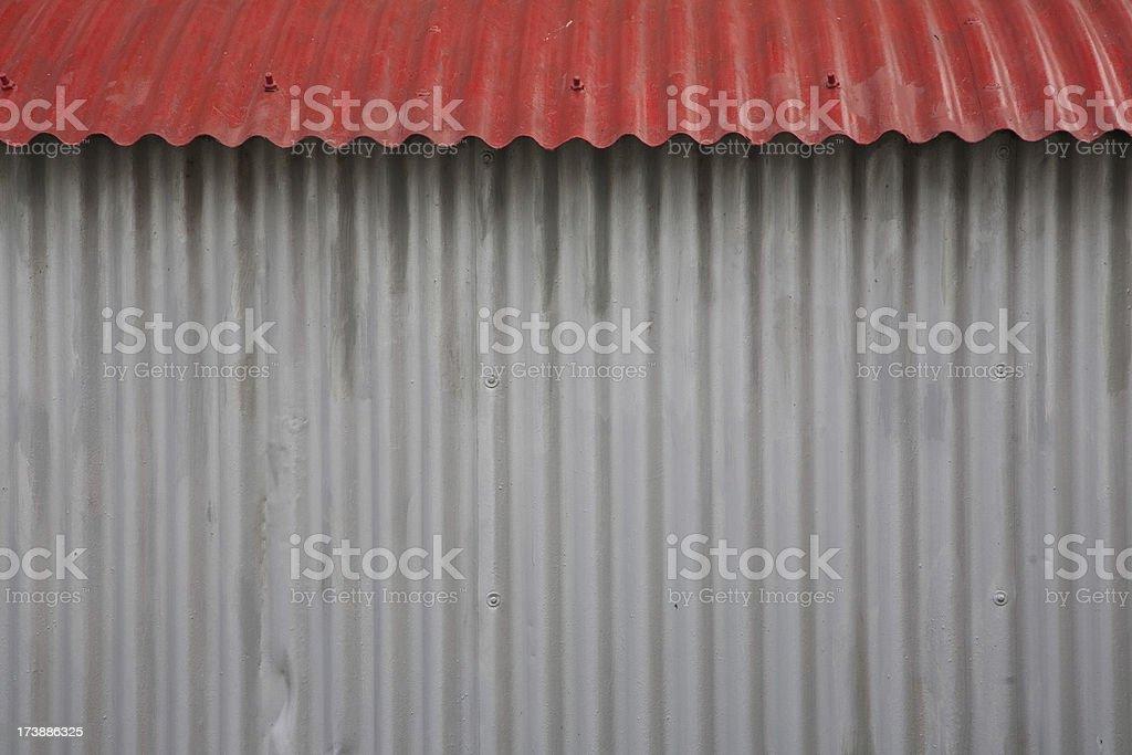 Quonset hut stock photo